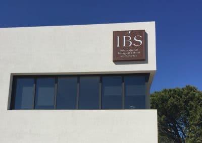 Enseigne caisson IBS