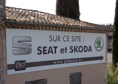 BACHE SEAT SKODA