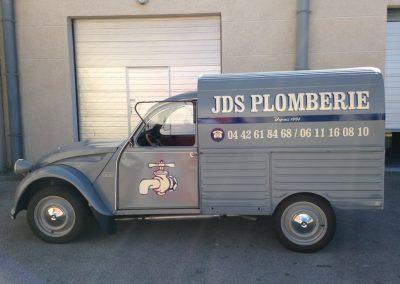 Decoration vehicule JDS