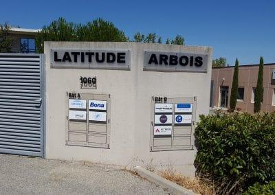 Plaques plexi Latitude Arbois